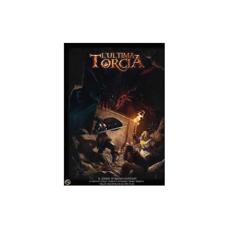 L'ULTIMA TORCIA scatola base SERPENTARIUM gioco di ruolo FANTASY italiano ETA' 10+