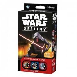 STAR WARS Destiny STARTER SET Kylo Ren GIOCO DI CARTE E DADI Asterion ETA' 10+