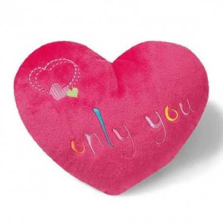 CUSCINO a forma di CUORE san valentino NICI 38583 peluche LOVE gadget