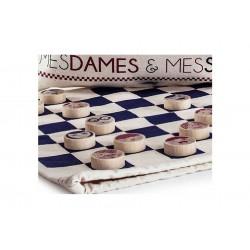 MESDAMES & MESSIEURS Les Jouets Libres DAMA gioco classico in legno DAMES età 5+