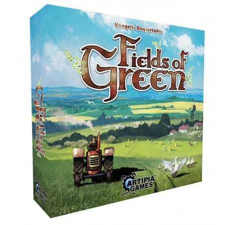 FIELDS OF GREEN gioco gestionale KICKSTARTER in inglese FATTORIA Artipia Games FARM età 12+