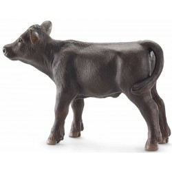 VITELLO BLACK ANGUS animali in resina SCHLEICH miniature 13768 CALF farm life