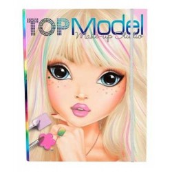 New set MAKE UP STUDIO artist CREATIVO album TOP MODEL viso TOPMODEL artistico DA COLORARE