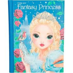 CREA LA TUA PRINCIPESSA FANTASY create your princess TOP MODEL album DEPESCHE Topmodel 6461_A
