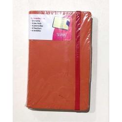 CONCERTINA 6 TASCHE file PORTA DOCUMENTI con elastico LEGAMI arancione PORTADOCUMENTI
