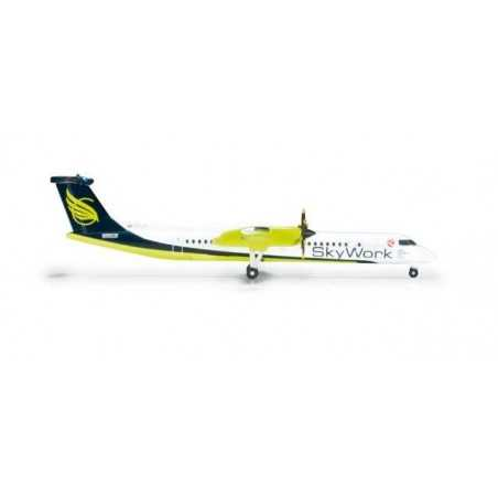 SKYWORK AIRLINES BOMBARDIER Q400 - 524377 HERPA WINGS 1:500