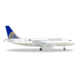 UNITED AIRLINES AIRBUS A319 - 526883  HERPA WINGS 1:500