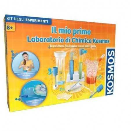 IL MIO PRIMO LABORATORIO DI CHIMICA in italiano KOSMOS set esperimenti KIT età 8+