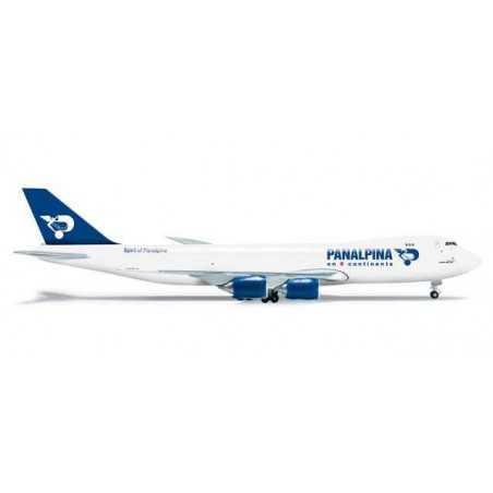 PANALPINA BOEING 747-8F - 523783 HERPA WINGS 1:500