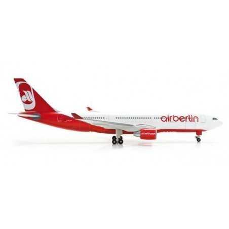 AIR BERLIN AIRBUS A330-200 - 517393 HERPA WINGS 1:500