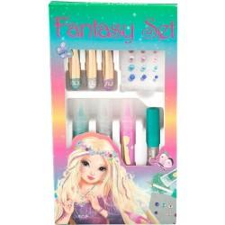 SET CREATIVO fantasy TOP MODEL glitter ACCESSORI per rifinire i tuoi disegni TOPMODEL 048070_A