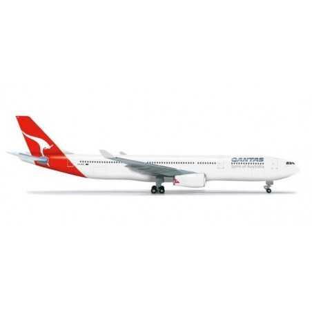 QANTAS AIRBUS A330-300 - 523530 HERPA WINGS 1:500