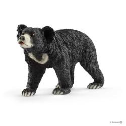 ORSO LABIATO animali in resina SCHLEICH miniature 14779 wild life SLOTH BEAR