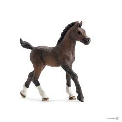PULEDRO ARABO animali in resina SCHLEICH miniature 13762 farm life ARABIAN FOAL cavalli