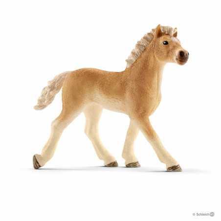 PULEDRO HAFLINGER animali in resina SCHLEICH miniature 13814 farm life FOAL cavalli