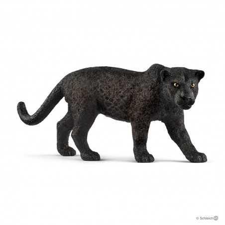 PANTERA NERA animali in resina SCHLEICH miniature 14774 wild life BLACK PANTHER