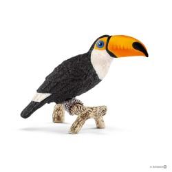 TUCANO animali in resina SCHLEICH miniature 14777 wild life TOUCAN