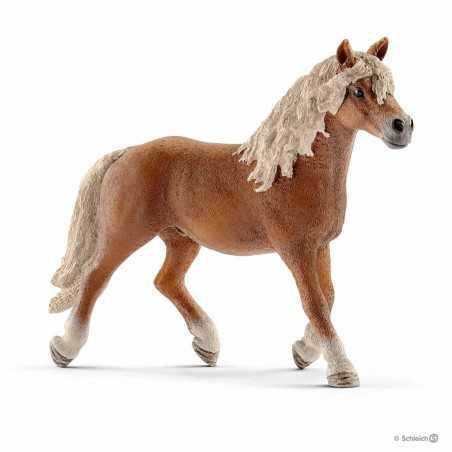 STALLONE HAFLINGER animali in resina SCHLEICH miniature 13813 farm life STALLION cavalli