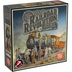 RAILROAD REVOLUTION gioco di piazzamento e costruzione ITALIANO gestione risorse RED GLOVE età 12+