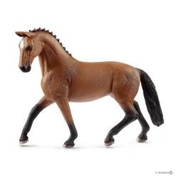 GIUMENTA HANNOVER animali in resina SCHLEICH miniature 13817 Farm Life MARE cavalli