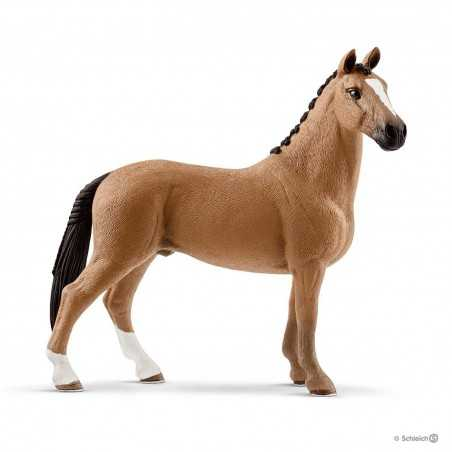 CASTRONE HANNOVER animali in resina SCHLEICH miniature 13837 Farm Life GELDING cavalli