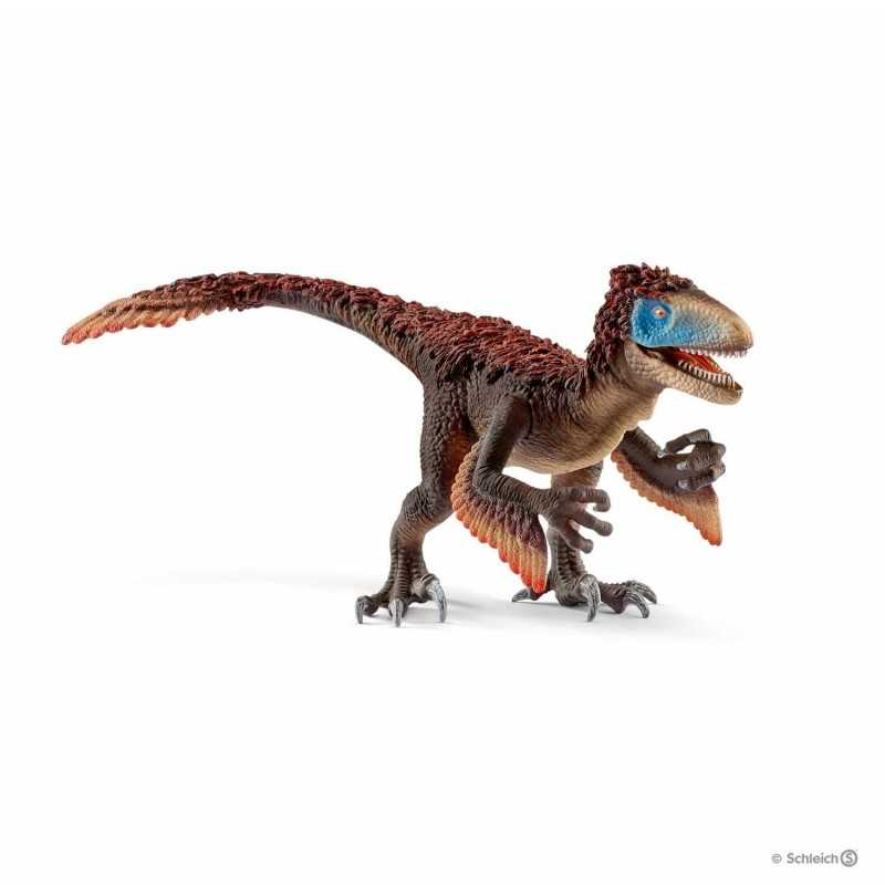 UTAHRAPTOR dinosauri in resina SCHLEICH miniature 14582 Dinosaurs VELOCIRAPTOR