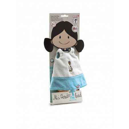 VESTITO CON OCA per bambola MINILOTTA alta 30 cm in PELUCHE wonder land NICI età 2+