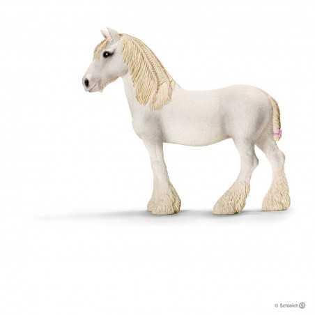 GIUMENTA SHIRE cavalli SCHLEICH miniature in resina FARM LIFE mare 13743 età 3+