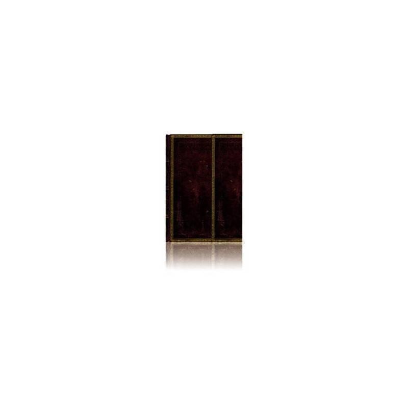 Midi journal marocain noir 13 x 18 cm