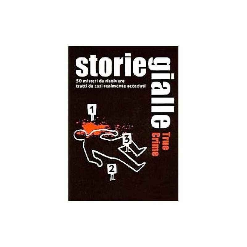 STORIE GIALLE 50 misteri da risolvere TRUE CRIME delitti realmente accaduti GIOCO DI CARTE Salani DETECTIVE rompicapo