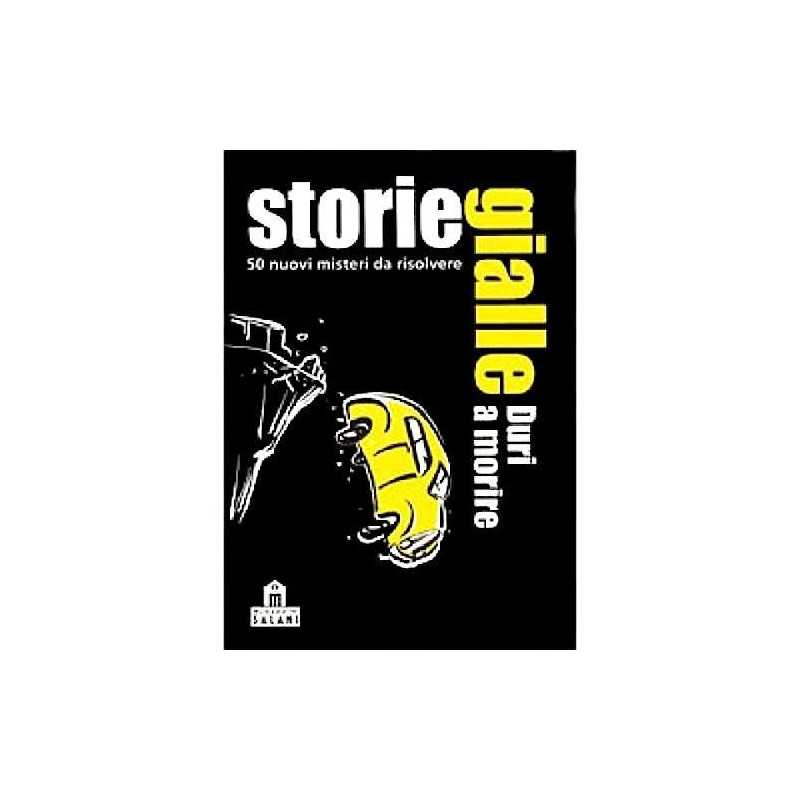 YELLOW STORIES die hard 50 mystery-solving riddles Salani DETECTIVE CARD  GAME