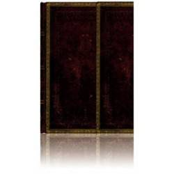 Black and white MOROCCAN journal midi 13 x 18 cm