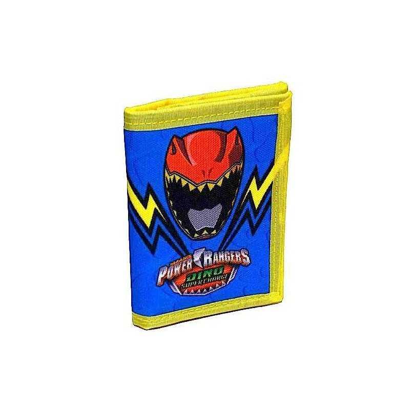 PORTAFOGLIO portafogli WALLET Saban's Power Rangers DINO super charge 2017 Seven IT'S MORPHIN TIME