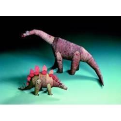 Zwei Dinosaurier