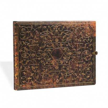 Libro degli ospiti bianco GROLIER orizzontale cm 23x18 - PAPERBLANKS