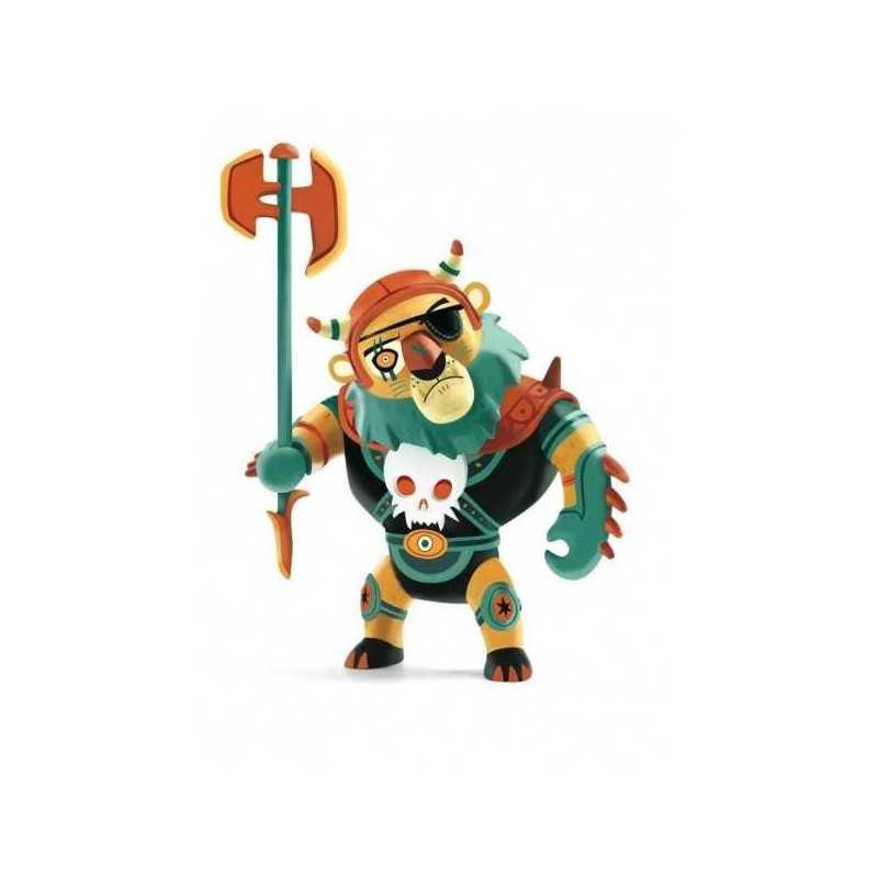 MAXIMUS cavalieri ARTY TOYS action figure DJECO in resina DJ06727 snodabile MAXI MINIATURA età 4+