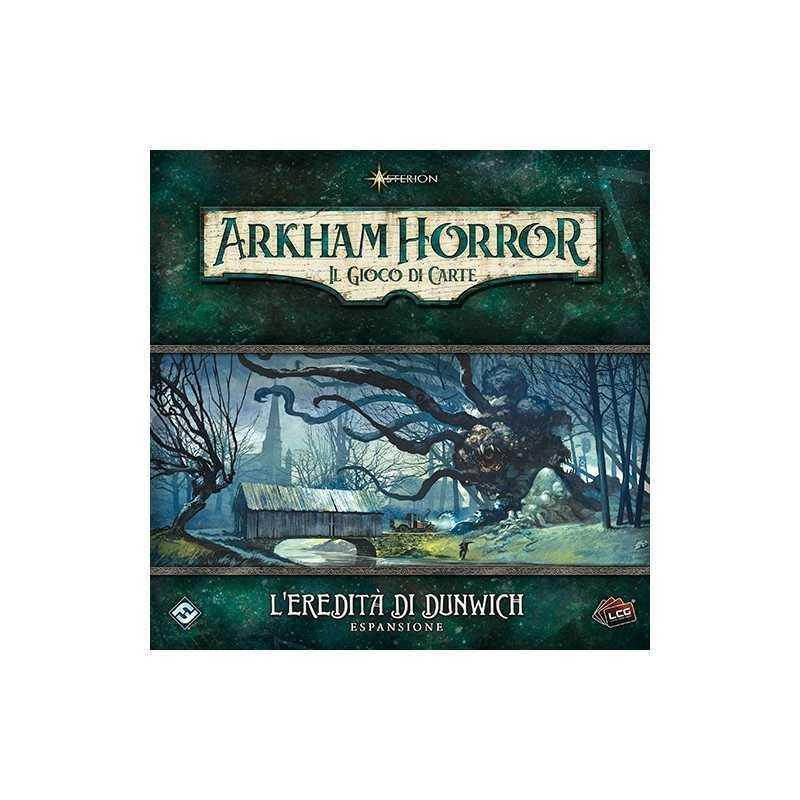 ESPANSIONE l'eredità di Dunwich ARKHAM HORROR il gioco di carte ASTERION edizione italiana COLLABORATIVO età 14+