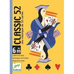 CLASSIC 52 gioco di carte illustrate CLASSICO Djeco TANTI GIOCHI POSSIBILI età 6+