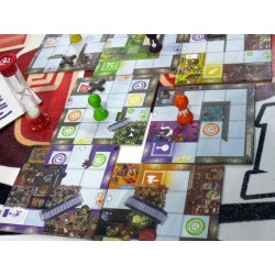 MAGIC MAZE gioco GHENOS GAMES dungeon EROI AL SUPERMERCATO edizione italiana SIT DOWN collaborativo SIMULTANEO età 8+