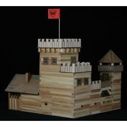 Château médiéval en bois