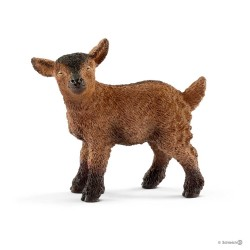 CAPRETTA marrone PICCOLA CAPRA goat SCHLEICH miniature in resina 12501 FARM WORLD età 3+