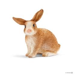 CONIGLIO coniglietto RABBIT farm world SCHLEICH miniature in resina 12488 animali FATTORIA età 3+