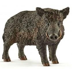 CINGHIALE miniature in resina 2017 animali SCHLEICH wild life 14783 HOG età 3+