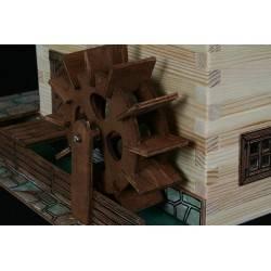 Wooden watermill