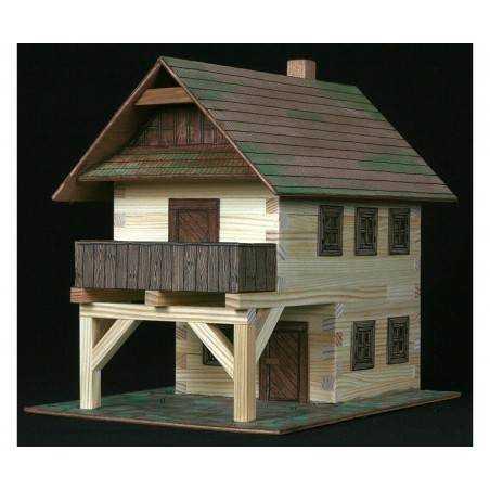 Municipio in legno