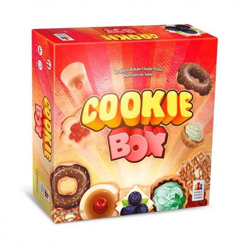 COOKIE BOX party game PASTICCERIA Asterion Press ASMODEE campanello GETTONI gioco 6+