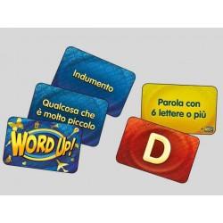 WORD UP! gioco di carte nomi cose città party game da 7 anni DaVinci