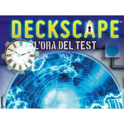 DECKSCAPE L'ora del Test gioco di carte in italiano ESCAPE ROOM DaVinci cooperativo