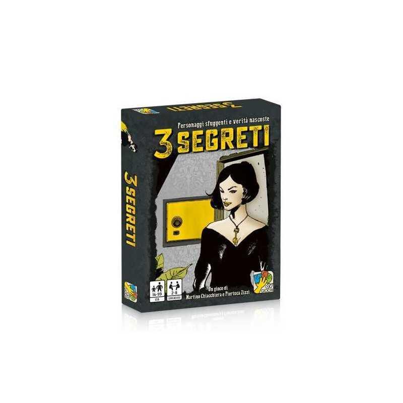 3 STORIE gioco di carte cooperativo di investigazione DaVinci