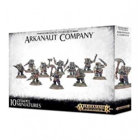 Kharadron Overlords ARKANAUT COMPANY 10 miniature WARHAMMER Age of Sigmar NANI Games Workshop NAVE 12+